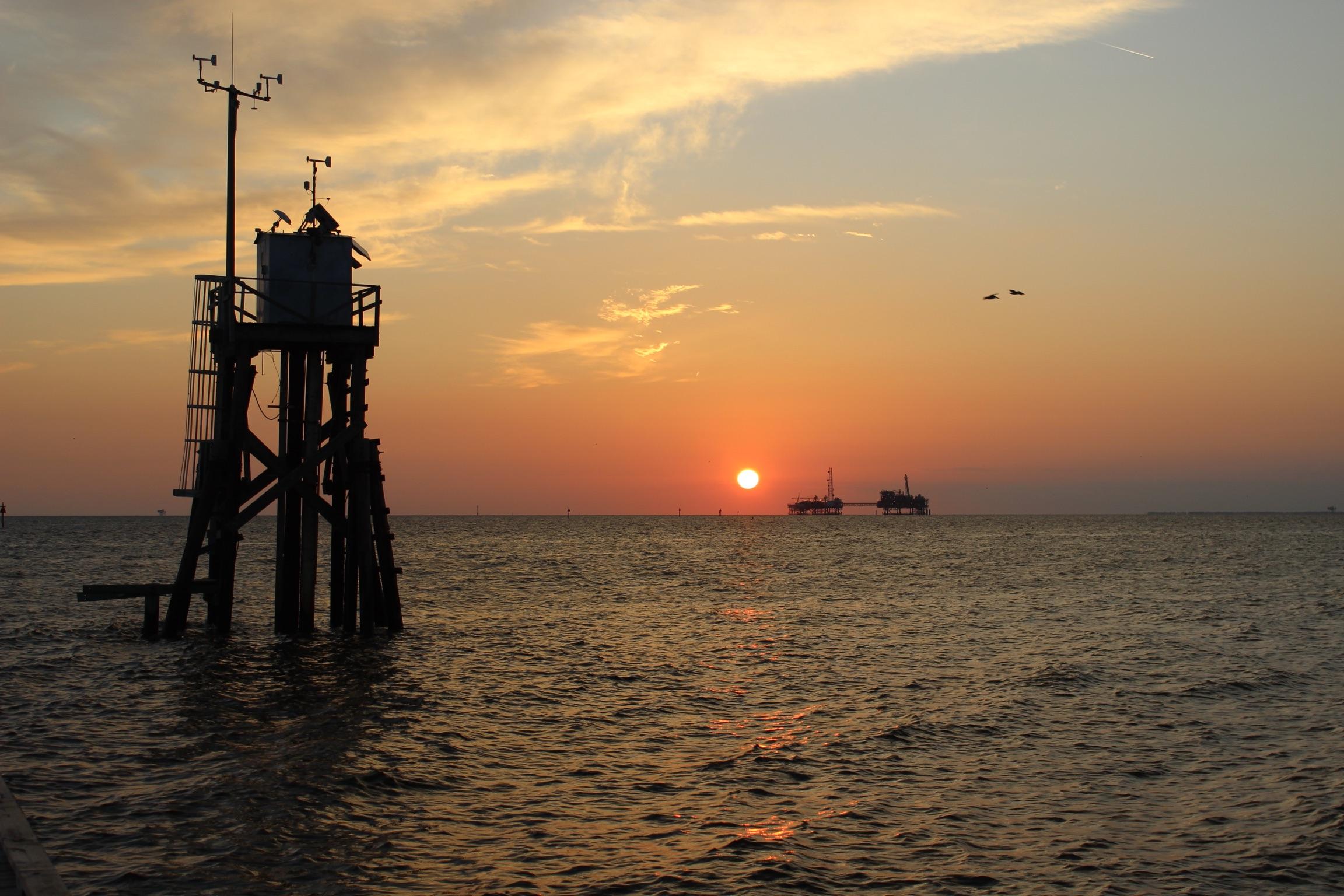 Mobile Bay, Dauphin Island, AL. Photo by Lauren Clance