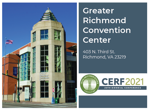 Greater Richmond Convention Center: 403 N. Third St.  Richmond, VA 23219